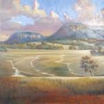 Garden Of Eden - one of three in triptych