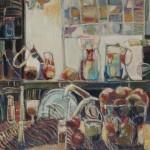 Kitchen scene III, 610x760, $500