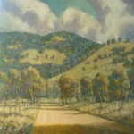 View of hills II, 2011, Not for sale