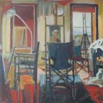 Riverlea Studio, 910x910, Oil on Canvas, $1000