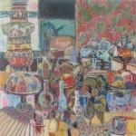 Samovar, 760x760, Oil on Canvas, $600 (Sold)
